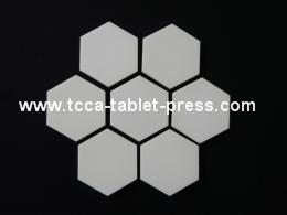 Ceramic tablet press