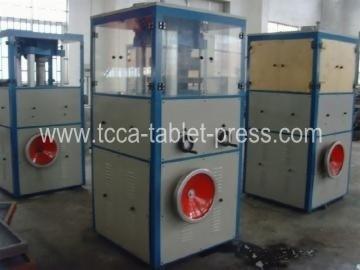 Alkali block press