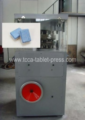 Bilayer diswasher rotary tablet press